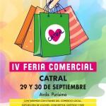 cartel IV Feria Comercial 2018
