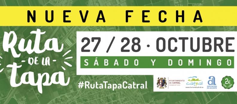 Un total de 17 bares de Catral participarán en la séptima edición de la Ruta de la Tapa