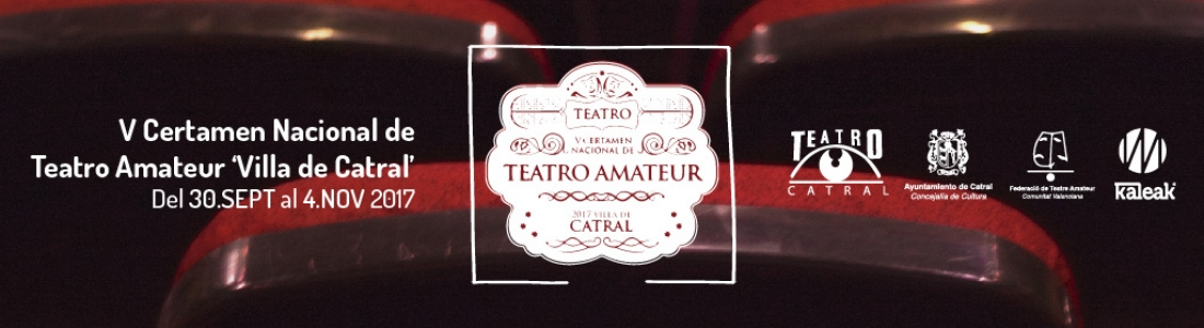 V certamen nacional de teatro amateur