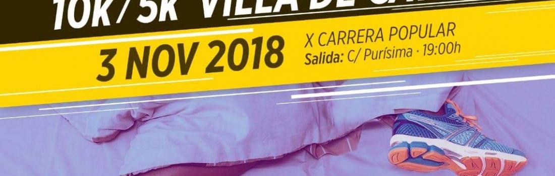 Catral acoge una nueva edición de la Carrera Popular