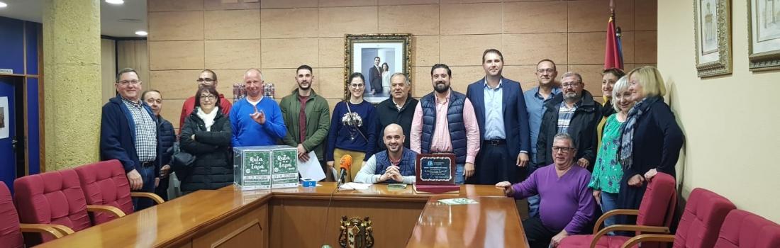 Turismo entrega los premios de la Ruta de la Tapa de Catral